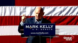 Retired NASA astronaut Mark Kelly launches bid for U.S. Senate