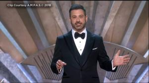 2018 Oscars: Jimmy Kimmel says Oscar statue 'most respected man in Hollywood'