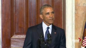 President Obama tears into Donald Trump's proposal to ban Muslim immigraton