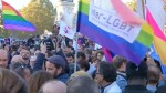 Demonstration denounce anti-LGBT violence in Paris after recent string of attacks