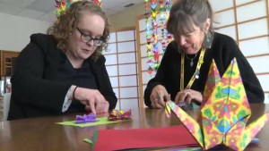 CMHR hopes to spread a message of peace through origami
