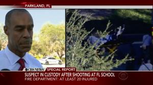 Florida police confirm 'numerous' fatalities following school shooting