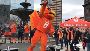Hamilton's Forge FC kick off inaugural season with downtown rally