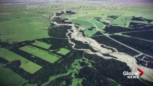 Fight continues over Springbank Dam