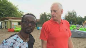 Two men hope friendship will help create genocide awareness in Rwanda (02:34)