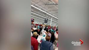 Boxed TV's fly off shelves as Black Friday deals send shoppers into frenzy