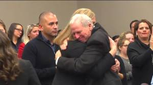 Courtroom applauds following Larry Nassar sentencing