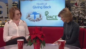 Month of giving back: PACE Society