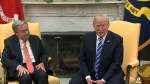 Donald Trump tells Secretary-General U.N. has 'tremendous potential'