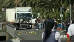 Body bags line Nice shoreline as officials investigate deadly truck attack