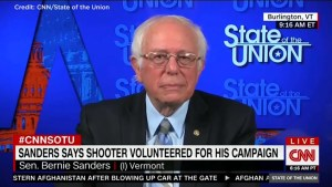 Bernie Sanders condemns shooter who volunteered for his campaign