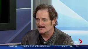 Why is Kim Coates in Saskatoon? (05:18)