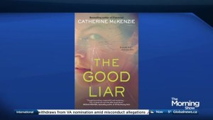 Author Catherine McKenzie's new book, The Good Liar