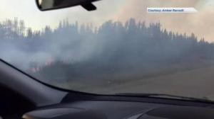 Stranded teachers drive through Sask. wildfire region to prepare for school