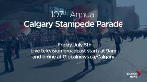 Crowd gathers at the 2019 Calgary Stampede Parade