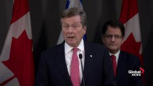 City's seen 'dramatically increased need' for homeless shelters: Tory