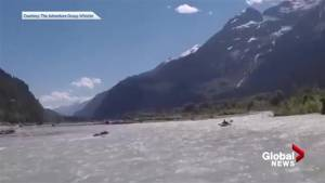 Grizzly bear caught on camera charging Squamish kayaker