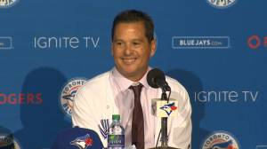'I love Canada' proclaims new Jays manager Montoyo (00:42)