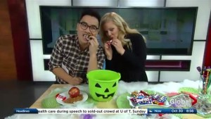 Eating healthy after Halloween trick or treating