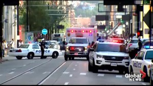 Multiple ambulances seen responding to shooting in downtown Cincinnati, OH