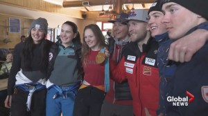 Olympic medallist makes golden return to Alberta ski hill he grew up on