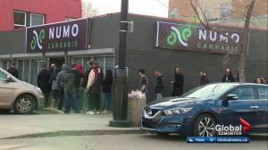 Cannabis demand in Edmonton still high on Day 2 of legalization