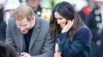 Prince Harry and tartan-clad Meghan Markle wow Edinburgh