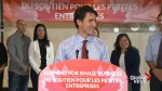 Justin Trudeau makes jokes, answers questions for Morneau