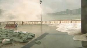 Hong Kong drenched as Super Typhoon Mangkhut hits China