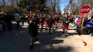 Hudson's 10th annual St. Patrick's parade