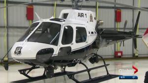 Edmonton police unveil new Air 1 helicopter