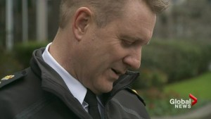 Discipline upheld for former Victoria police chief