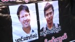Reuters journalists being handed seven-year jail term