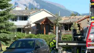 Home explodes in Alberta damaging nearby houses