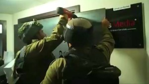 Israeli forces raid media offices across West Bank
