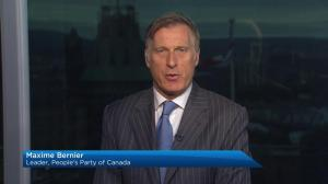 Bernier say he will end the cartel of supply management with People's Party