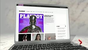 Playboy covers up after six decades of baring it all