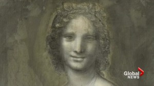 Is a 16th-century charcoal sketch a naked Mona Lisa?