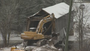 Historic New Brunswick bridge demolished after storm damage