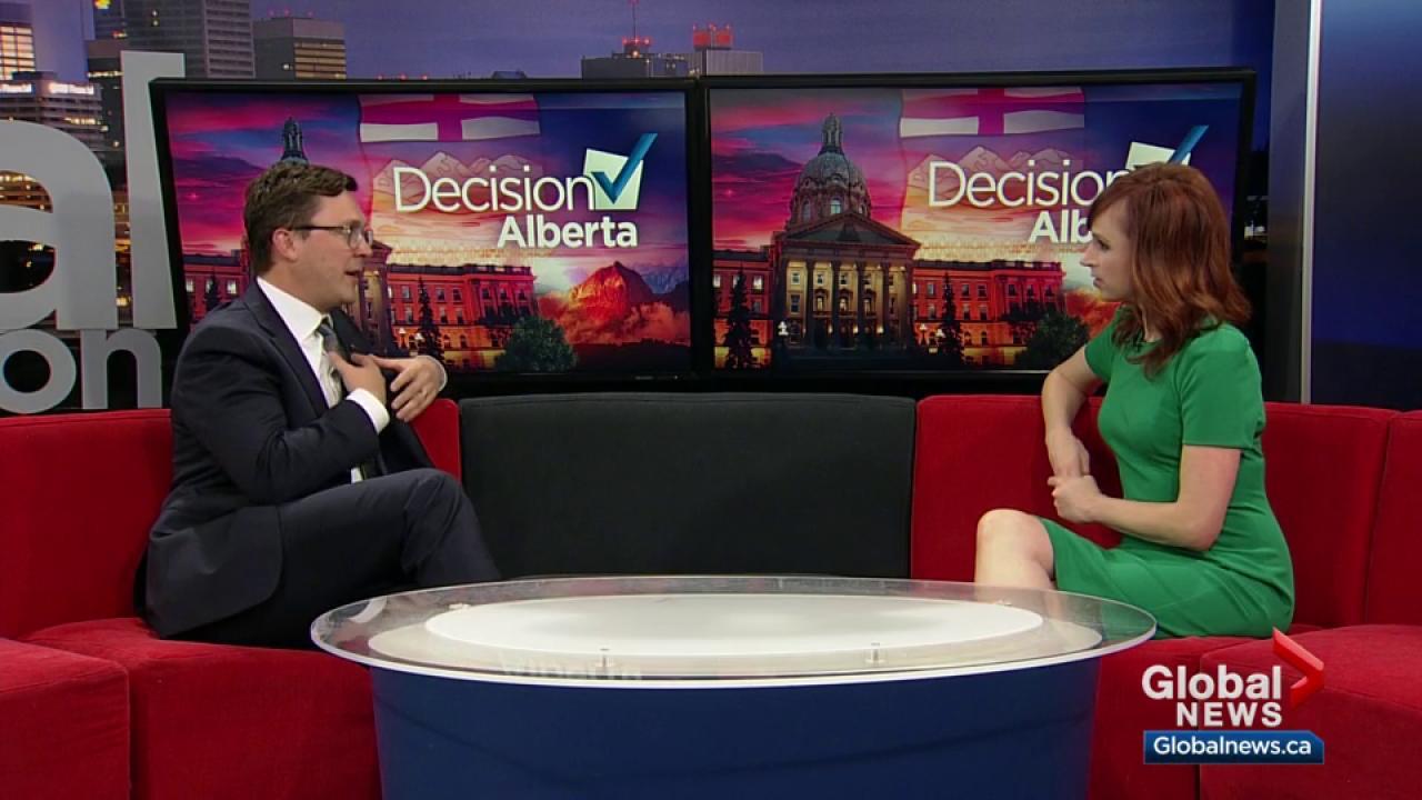Alberta party leaders trade accusations in debate