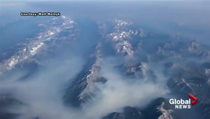 In Photos Mystic Smoke From Wildfires Drifts Through