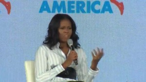 Michelle Obama blasts Trump administration for reversing course on her healthy eating initiatives