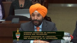Bains says StatsCan never told him about bank project