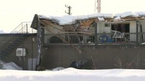 Heavy snowfall blamed for roof collapses in Quebec