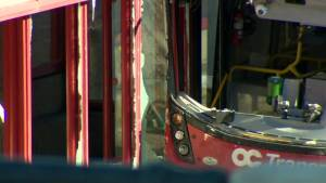 Police in Ottawa investigating what caused crash of transit bus into shelter