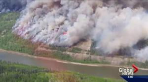Fort McMurray wildfire spreads into Saskatchewan