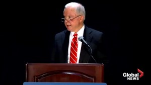 Sessions says DOJ is working to enforce laws that protect church and faith groups