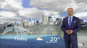 Edmonton early morning weather forecast: Tuesday, August 13, 2019