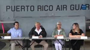Trump: 'Few people had ever even heard of' a hurricane as bad as Maria