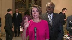 Pelosi urges Trump to open government